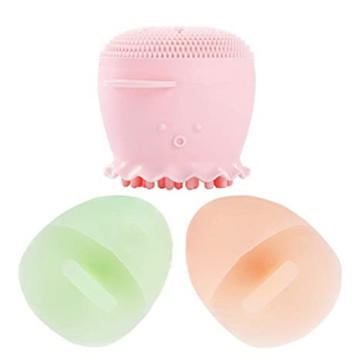 Facial Cleansing Brush with Deep Pore Foaming Sponge
