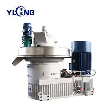 Timer waste wood pellet making line