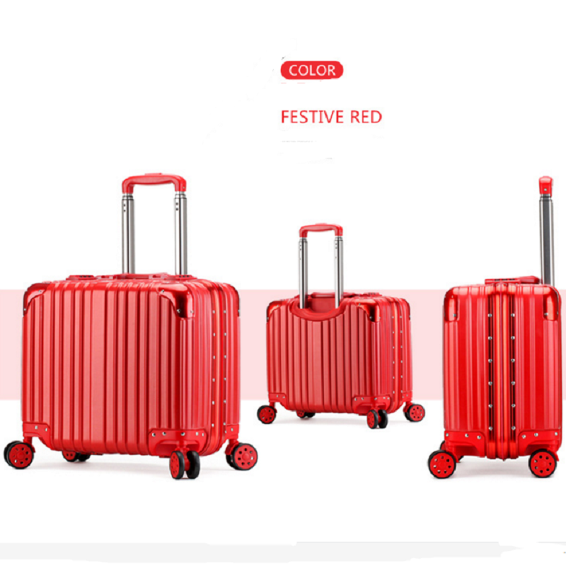 Airport red luggage