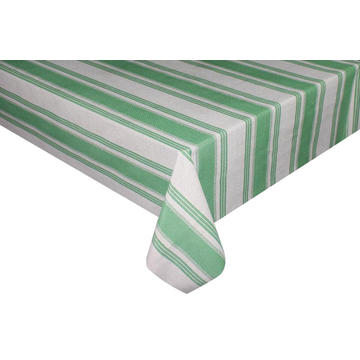 Manchester stripes Vinyl Tablecloth