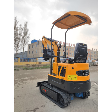 1 ton mini excavator with big performance