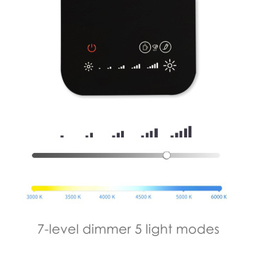 8W Dimmer LED Desktop Lamp Touch Control Panel
