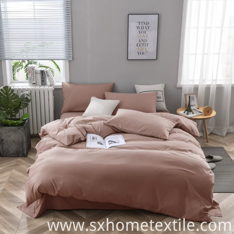 Softness Solid Color Bed Sheet