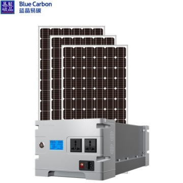Blue Carbon Power plant 3KWH off Grid Solar