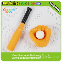 basball Shaped Eraser,Wholesale stationery eraser