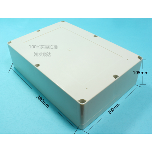 Plastic Enclosure For Battery Pack 380mm (ECL380X260H100)