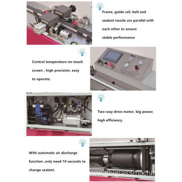 Spacer Bar Silicone Sealing Machine