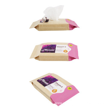 OEM Custom Logo Individual Makeup Remover Wipes