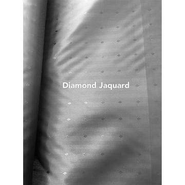 100% polyester microfibre Jaquard diamant