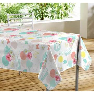 Plastic Tablecloths only Cut Edge 140 x 180cm