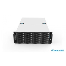 4U hybrid high-definition digital hard disk recorder chassis