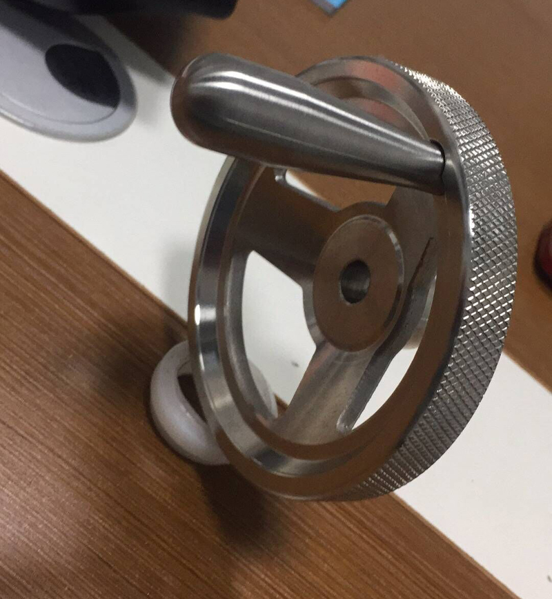 Hand Wheel Solid Square
