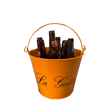 Double-sided printing ordinary handle ice bucket