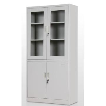 Glass door Metal cupboard