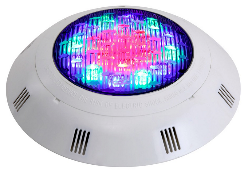 RGB led underwater light
