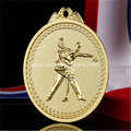 3D dance metal medals