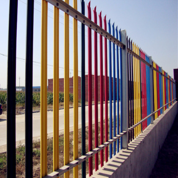 Good Quality Heavy Duty Galvanized Palisade Euro Fence
