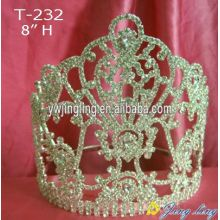 Wholesale Tall Rhinestone Pageant Crowns And Tiaras
