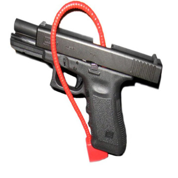 Red Cable Gun Safety Padlock Gun locks