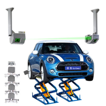 Two-post Wheel Alignment Machine