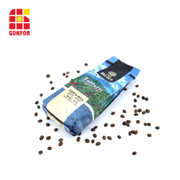 12 Colors Printed One-Way Valve Coffee Packing Bag