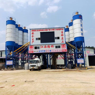 Container new brand modular 60m3/h concrete batching plant