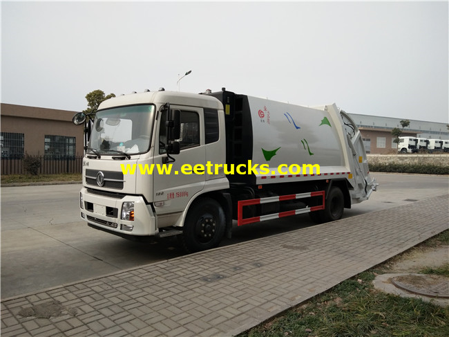Dongfeng Compressed Garbage Trucks