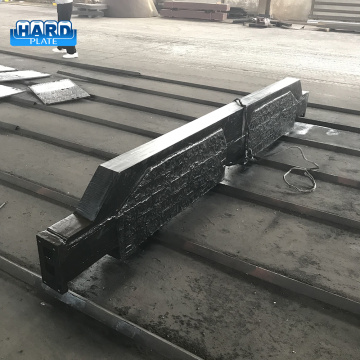 CCO Hardfacing Overlay Wear Abrasion Grate Plate