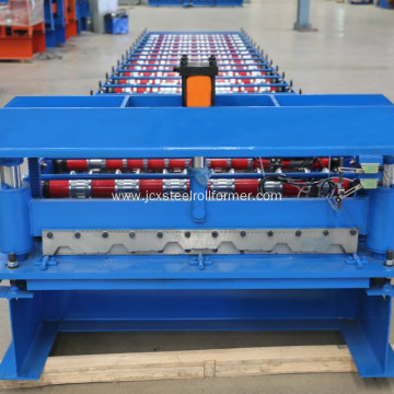 metal roofing wave sheet arch roll forming machine
