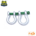 2T Round US Type Galvanized Shackles