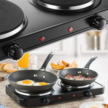 Kitchen Countertop Cast-Iron Double Burner