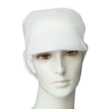 disposable surgeon integral cap with tie