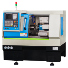 CNC Lathe With Linear Guideway Flat Bed
