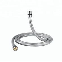 ouble Lock Polished Stainless Steel Flexible Shower Hose