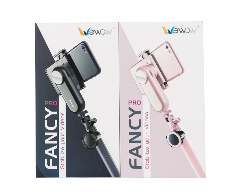 Gimbal With Selfie Stick For iPhone X 7/6 Plus