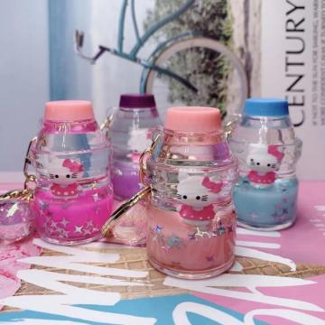 Hello Kitty Liquid Keychain