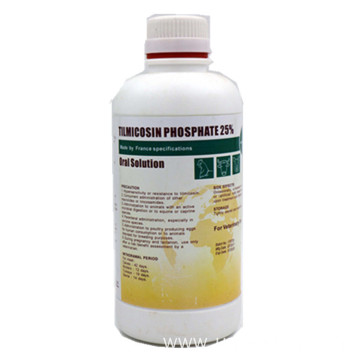 Tilmicosin Phosphate 25% Oral Liquid for Veterinary