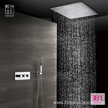 Wall Mounted Thermostatic Brass Shower Faucet Set