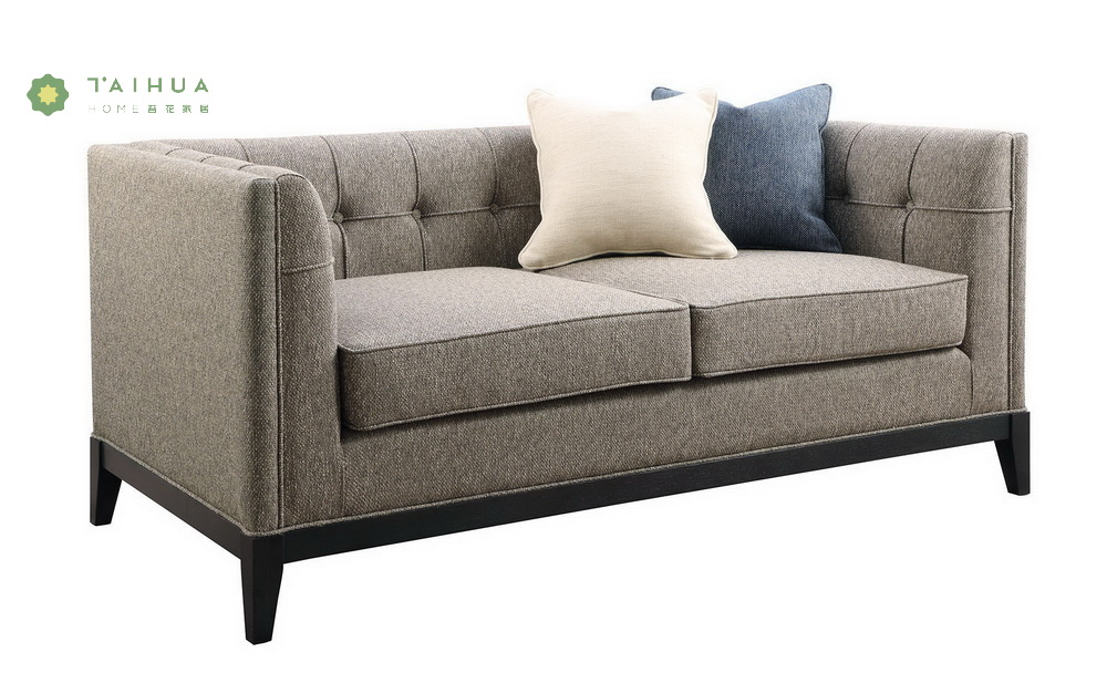 Fabric Double Seat Sofa