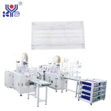 Fully automatic medical face mask making machine