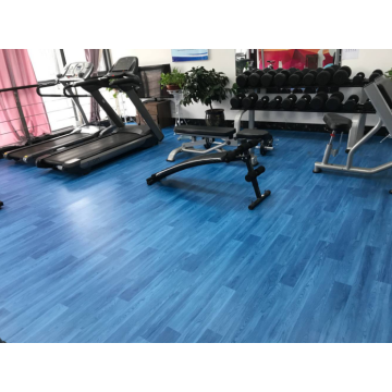 Multipurpose PVC Sports Flooring-High Quality Wood Pattern