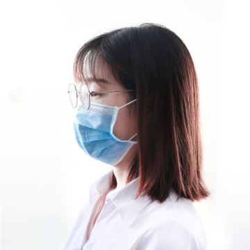 3 Layers Earloop Civilian Disposable Face Mask