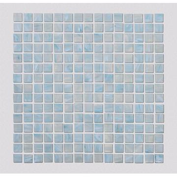 Light Blue Glass Mosaic Tile For Swimming Pool