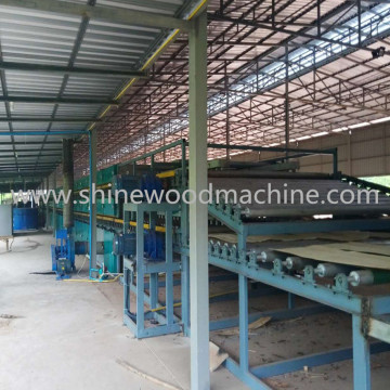 Veneer Dryer of Plywood Production Line