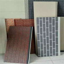 Fire rated PU foam panel dinding sandwic luar