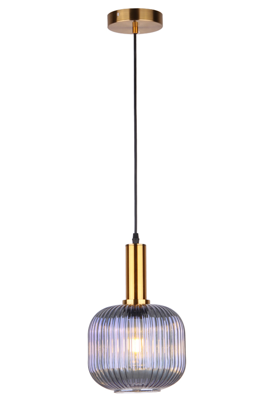 Pendant Blue Glass Lamp