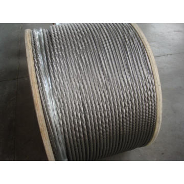 316 stainless steel wire rope 1x19 8.0mm