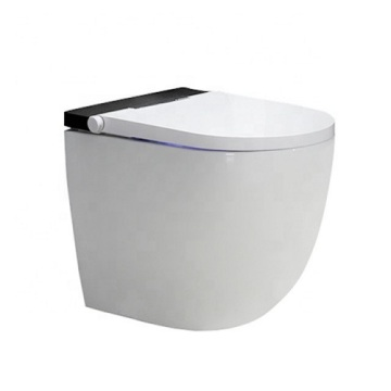 Vanity One Piece Kicking Automatic Washroom Toilet