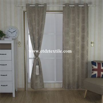 2017 Morden Polyester Soft Textile Yarn Dyed Window Curtain