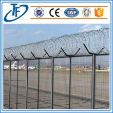 Galvanized concertina razor wire mesh